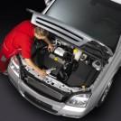 Forretningssystem for bil og motor